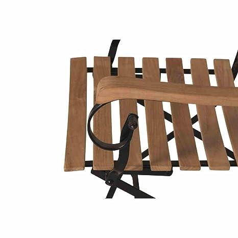 Peru - Silla plegable II estructura Negro, teca FSC Mix 70 ...