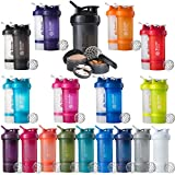 BlenderBottle ProStak System with 22-Ounce Bottle and Twist n' Lock Storage