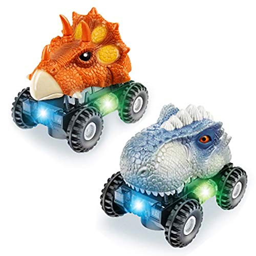 echohc Dinosaur Toy Cars 2 Pack Kids Toys