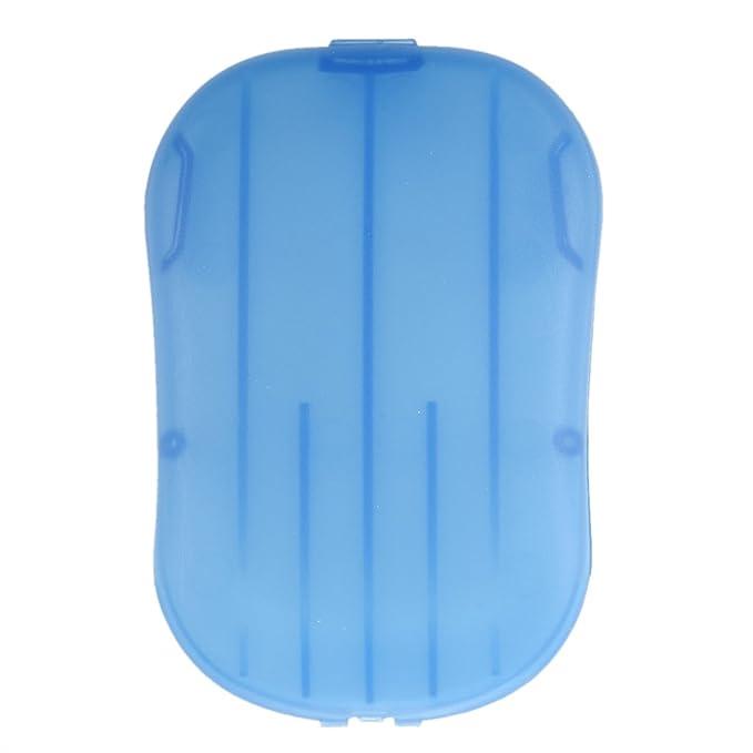 SODIAL(R) 2 cajas Mini lavado de manos Bath Travel perfumadas hojas deslizantes Jabon Espumoso de la caja de papel: Amazon.es: Hogar