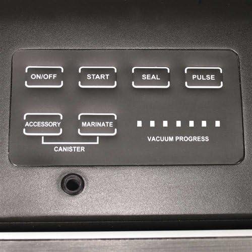 Weston Pro Advantage Vacuum Sealer 65-0501-W PLUS 100 1-QUART and 100 1-GALLON Weston Bags