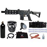 US Army Project Salvo Paintball Marker Gun 3Skull Sniper Set