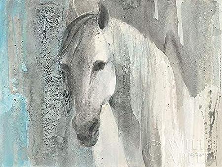 Albena Hristova Kaleidoscope Horse I Keilrahmen-Bild Leinwand Pferd Kopf bunt