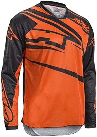 Naranja AXO Sr Junior Camiseta de ciclismo M Ni/ños