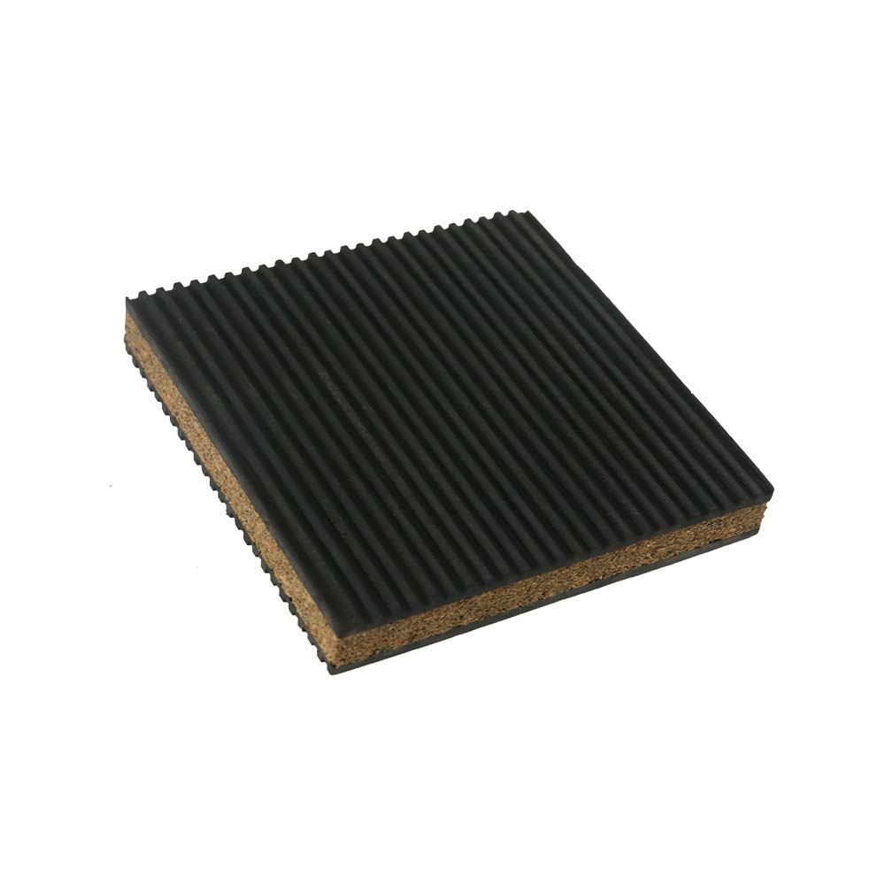 Cork Isolation Pads Dakota Sourcing 18310 Cork /& Rubber Anti Vibration Pads 12x12x7//8