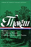 img - for Henry David Thoreau: Walden / Maine Woods / Collected Essays and Poems (Library of America College Editions) book / textbook / text book