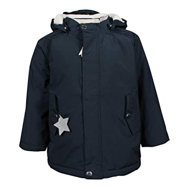33600502 Mini A Ture Children's Winter Jacket Wally Sky Captain Blue, Boys:86 cm/