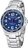 "Stuhrling Original Watches Mens ""Specialty Grand Regatta"" Stainless Steel Professional Swiss Quartz Dive Watch"