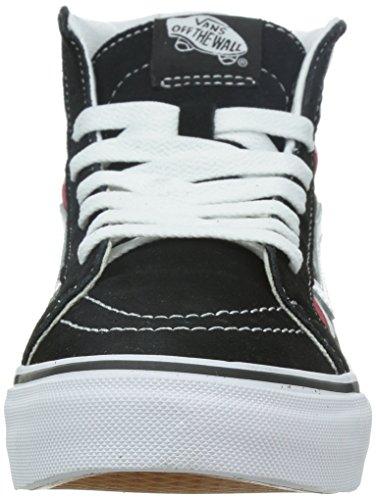 Vans U Sk8-Hi Slim Cherry Checkers - Zapatillas bajas unisex Cherry Checkers/Black/True White
