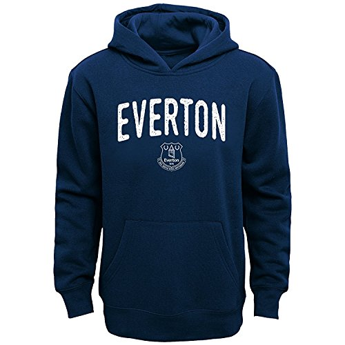 Outerstuff Everton F.C. Youth Arch Fleece Hoodie Navy (Youth Small 8)