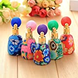 attachmenttou 12ml Polymer Clay Perfume Empty Refillable Bottle Spray Gasbag Fimo Sweet Gift