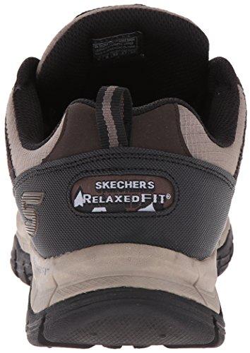 Skechers Sport Mens Rig Nascosta Sneaker Asset Marrone / Nero