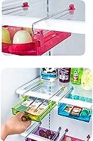 QAQWER Caja de almacenaje del refrigerador, plástico refrigerador ...