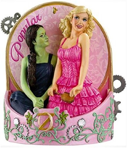 """Price comparison product image Carlton Cards Heirloom Wicked the Musical """"Popular"""" Christmas Ornament"""
