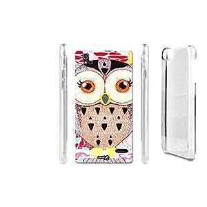 FUNDA CARCASA GIRL OWL PARA ZTE BLADE VEC 4G