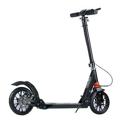 Patinete- 2 Ruedas, Scooter Plegable para Niños Y Adultos ...