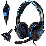 SADES SA-708 Stereo HiFi Gaming Headphone Headset with Microphone for XBOX 360/PS4/PC/Notebook/Laptop