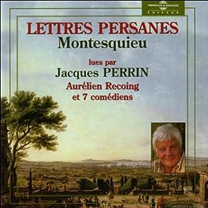 Lettres Persanes | Livre audio