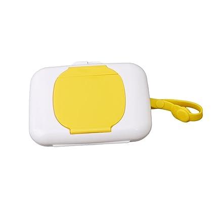 Fullin portátil limpiador caso caja toallitas húmedas portátil dispensador de toallitas húmedas caja de pañuelos caso
