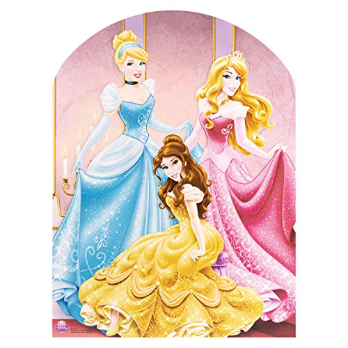Star Cutouts SC599 Official Cutout of Disney Princess Stand-in, -