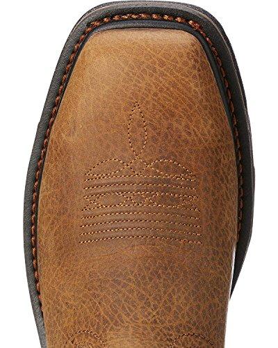 Ariat Men's Workhog Patriot Western Boot Steel Toe Brown 7 D by Ariat (Image #4)