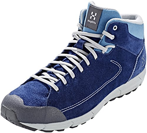 Haglöfs ROC Lite Mid Shoes Men Tarn Blue/Blue Fox 2018 Schuhe