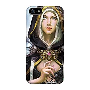 EOVE Fashion Protective Angel With Harp Case Cover For Iphone 5/5s