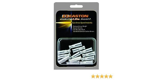 Easton MicroLite H Precision Alloy Insert 12 Pack