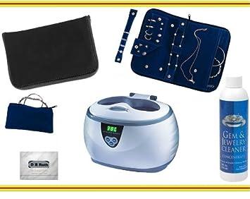 Amazoncom Professional Digital Ultrasonic Jewelry Cleaning Machine