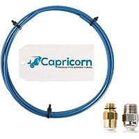 Sovol Authentiek Capricorn Bowden PTFE slang blauw teflon slang XS 1,2 meter met PC4-M6 pneumatische aansluitstukken en…