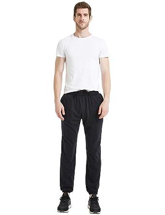 amatorial Hombres Deportes Pantalones chándal de algodón ...