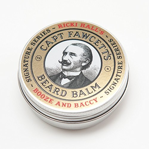 Captain Fawcett Ricki Hall Booze & Baccy Beard Balm 60ml by Captain Fawcett