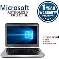 Dell LATITUDE E5430 14 Laptop Computer(Intel Core i5-3320M 2.4G,4G RAM DDR3,500G HDD,DVDRW,Windows 10 Professional)(Certified Refurbished)