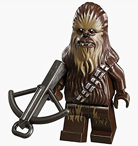 New Version Lego Chewbacca Star Wars Minifig Chewie Minifigure Figure - New Sets Lego 2015 Starwars
