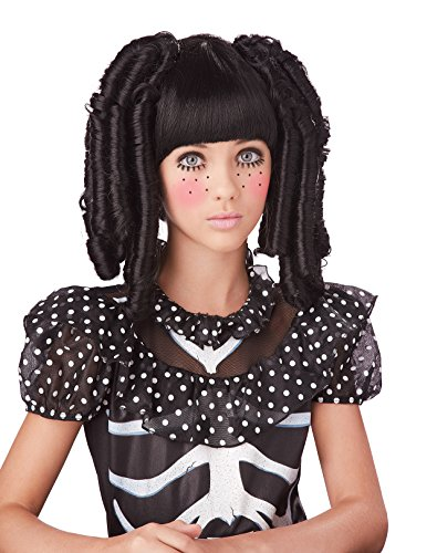 California Costumes Baby Doll Curls with Bangs Costume,