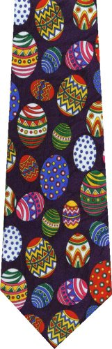Easter Eggs All Over New Novelty Necktie Tie (Easter Tie Eggs)