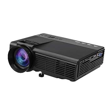 OFF Mini proyector, Full HD 1080P y pantalla de 40-165 ...