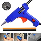 Yoohe 20W Mini Hot Melt Glue Gun and 2pcs Mini Glue Sticks Heat Temperature Tools for Household