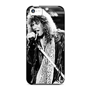 Marycase88 Iphone 5c Protective Cell-phone Hard Cover Support Personal Customs Colorful Bon Jovi Skin [MLW1517CQKO]