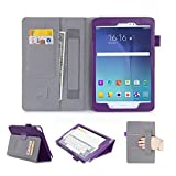 [Corner Protection] Galaxy Tab A 8.0 Case, FYY® Ultra Slim Magnetic Smart Cover Case for Samsung Galaxy Tab A 8.0 (P350/T350) Purple