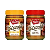 Biscoff Spread Combo - 1 Smooth and 1 Crunchy by Lotus Bakeries