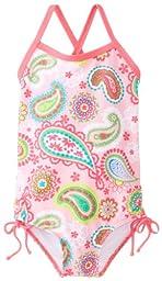 Kanu Surf Baby Girls\' Secret Garden 1 Piece Swimsuit, Pink, 18 Months