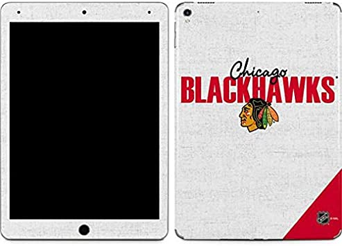 Amazon Com Skinit Decal Tablet Skin For Ipad Pro 12 9in 2017 Officially Licensed Nhl Chicago Blackhawks Script Design Electronics