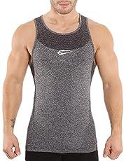 SMILODOX Tank Top Herren | Seamless - Muskelshirt mit Aufdruck für Sport Gym Fitness & Bodybuilding | Muscle Shirt - Unterhemd - Achselshirt - Trainingshirt Kurzarm