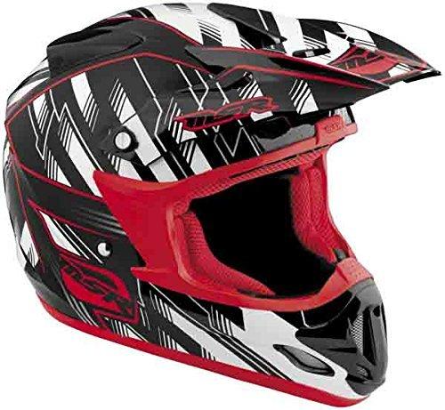 (MSR Visor for Velocity 2012 Helmet - Black/Red)
