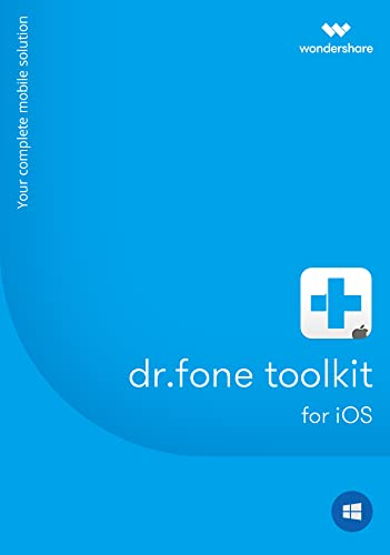 Amazon com: Wondershare dr fone toolkit - iOS Data Recovery