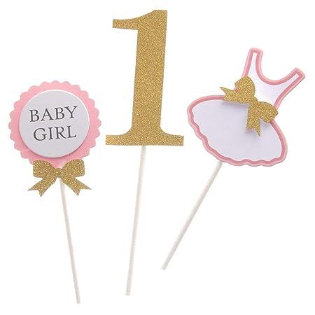 Bebé Bonito niño o niña Primer cumpleaños Ropa diseño ...