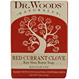 Dr. Woods Bar Soap Red Currant Clove, 5.25 Ounce