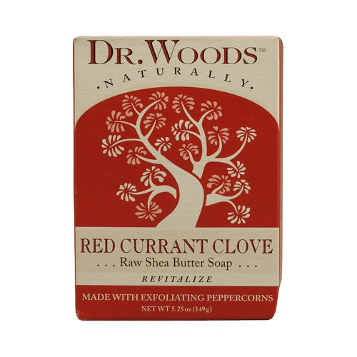 UPC 689191560298, Dr. Woods Bar Soap Red Currant Clove, 5.25 Ounce