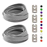 Elastic No Tie Shoelaces For Kids and Adults sport running Lazy Shoelace For